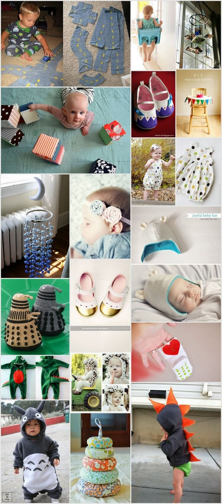 Unique and Adorable DIY Projects to Make for Babies