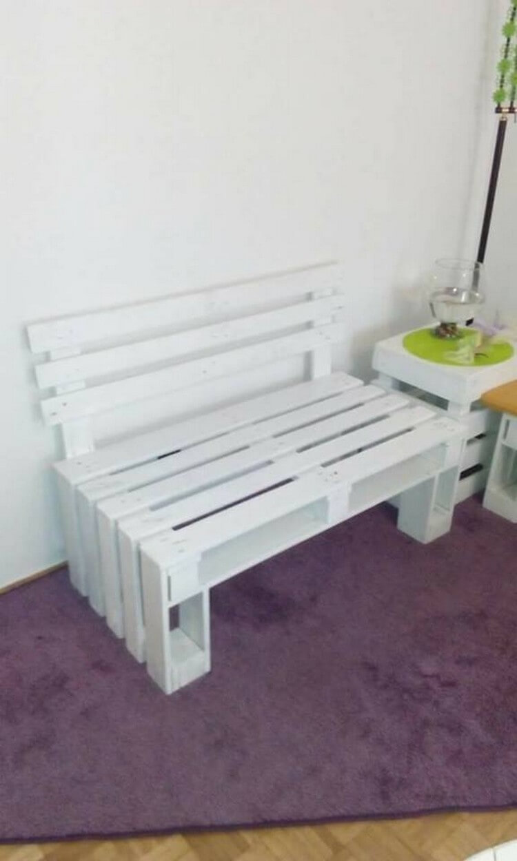 Pallet wood recycling ideas recycled things for White painted pallets