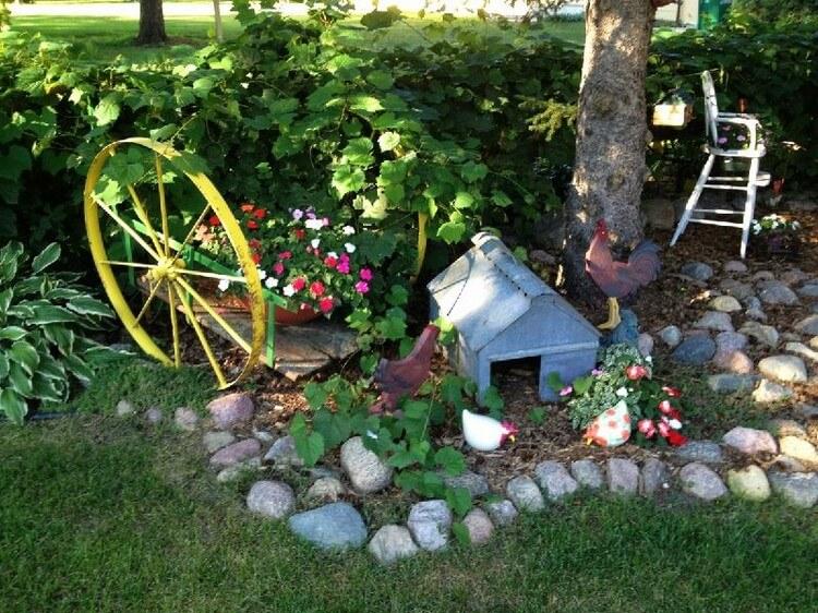 Wonderful Garden Art Plans