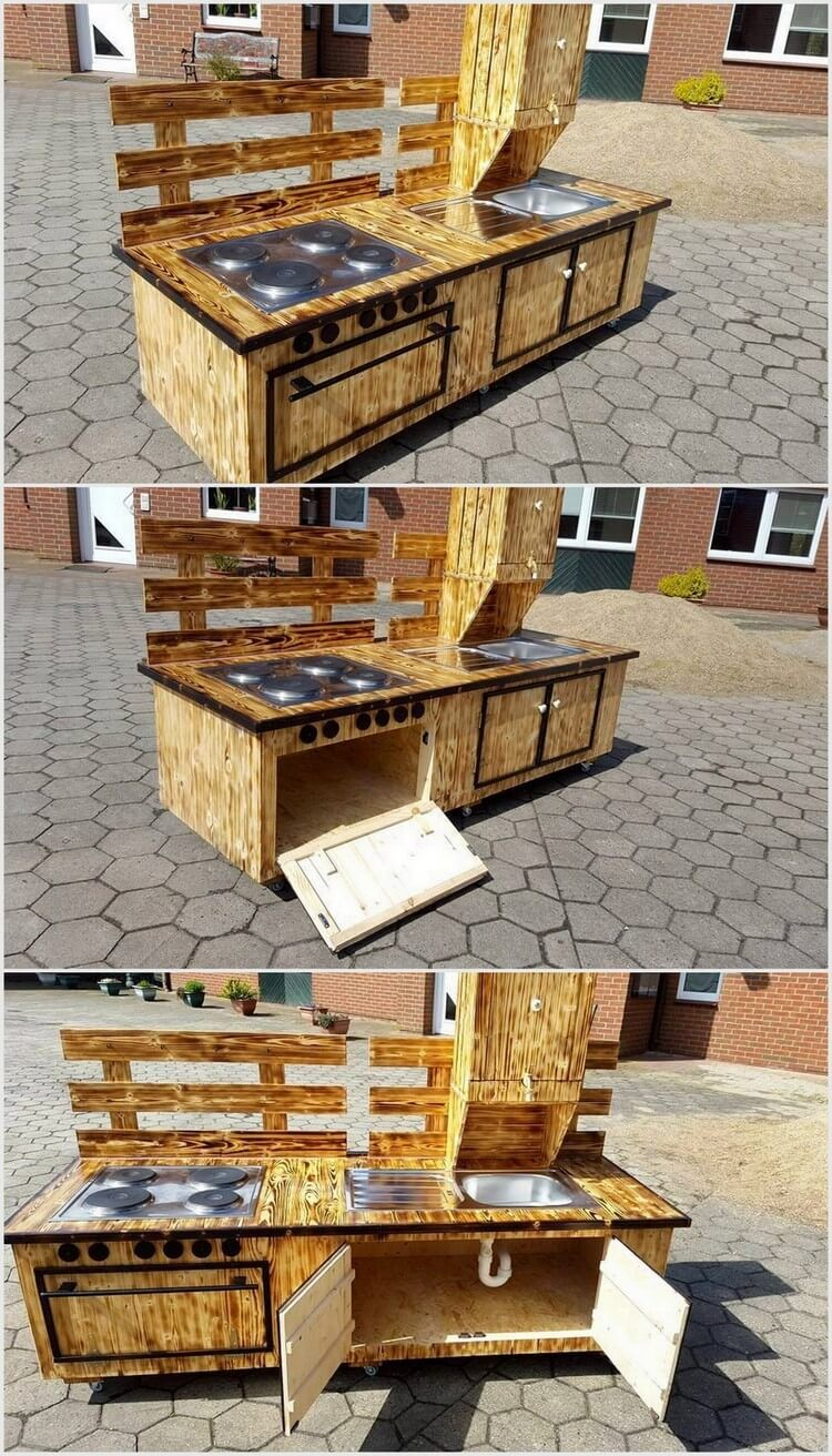 Pallet wood recycling ideas recycled things for Kitchen crafts to make