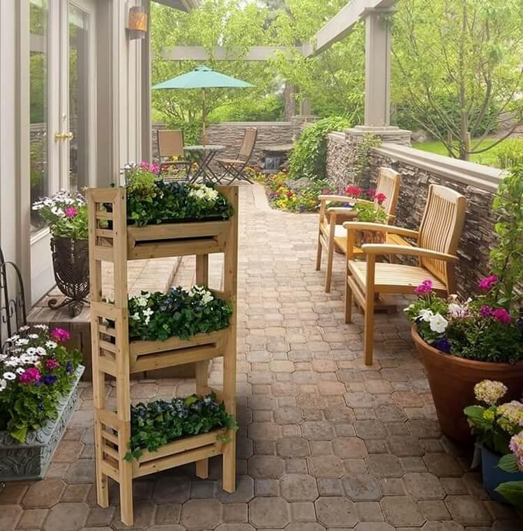 Wooden Planters for Garden Decor