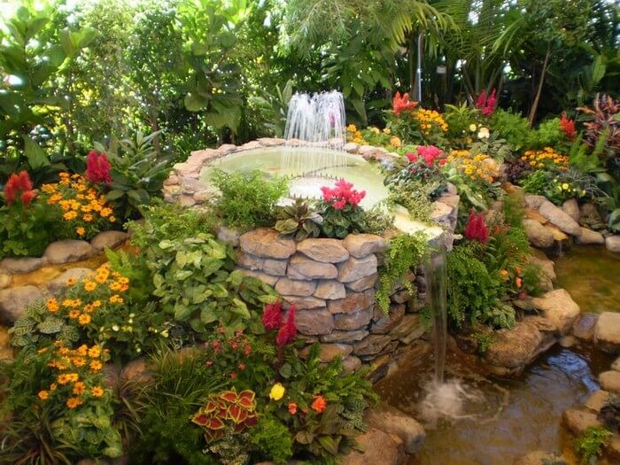 Awesome Garden Waterfall