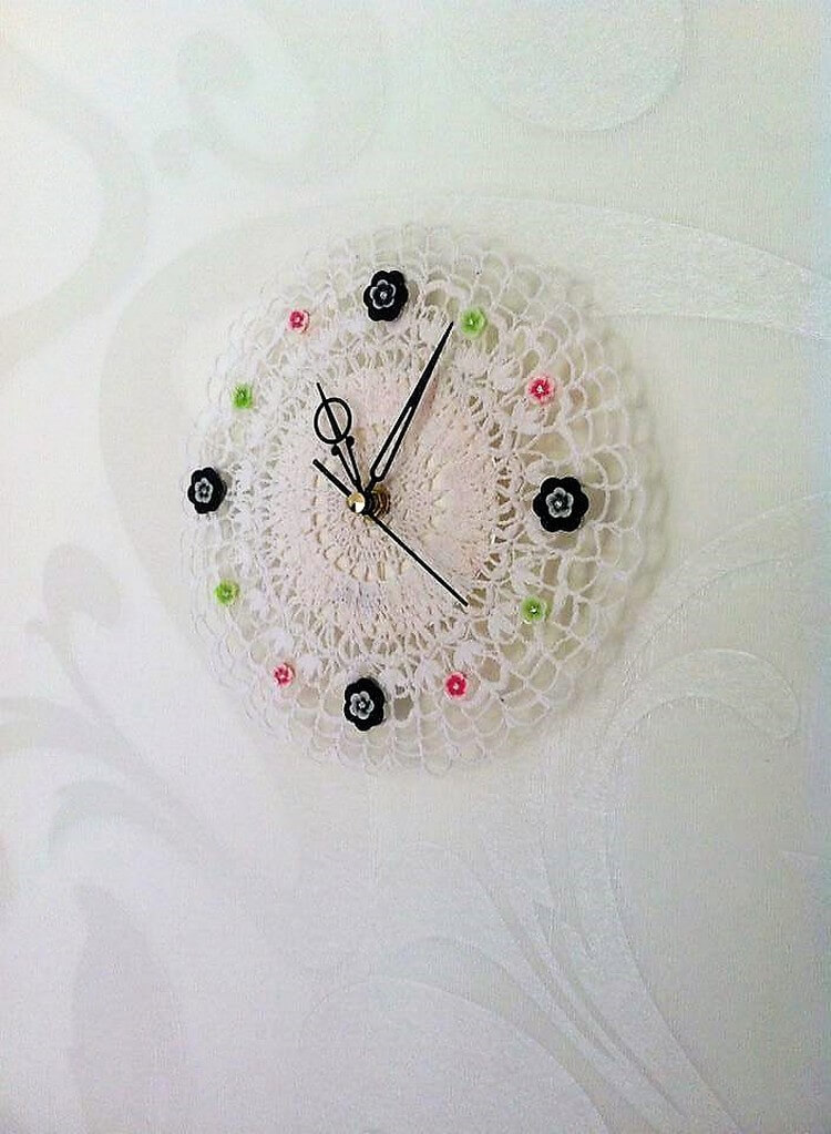 Crochet Baby Feeders Key Ring Crochet Clock ...