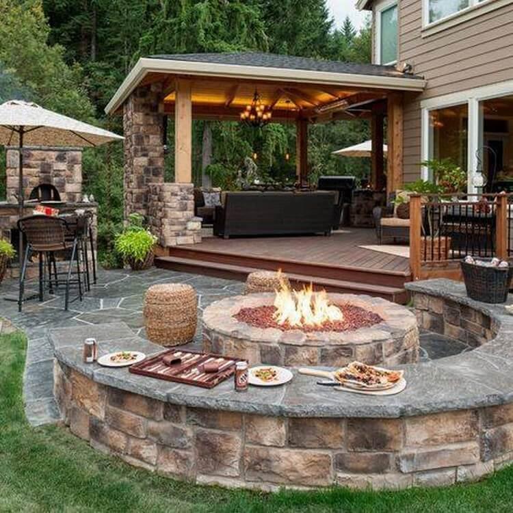 Garden Fire Pit Designs