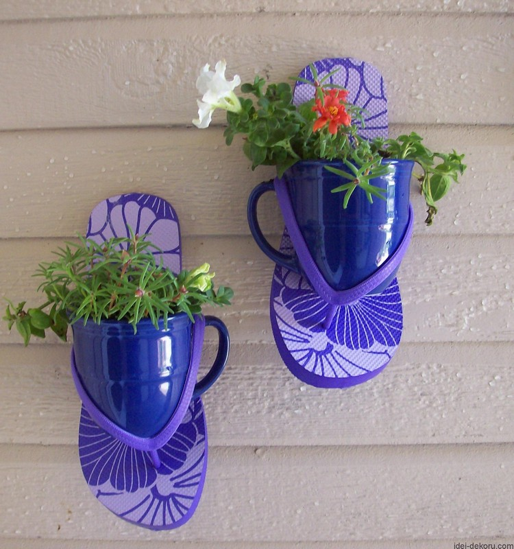 Homemade Flower Pots
