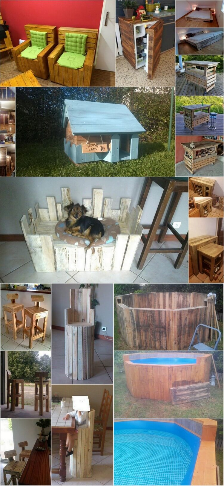 Ingenious Ways to Give Wood Pallets Second Chance