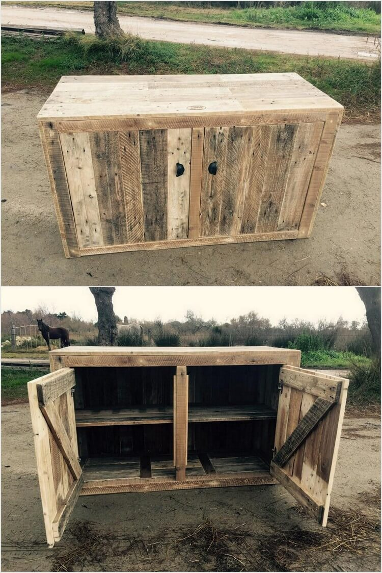 Some cool ideas with old shipping pallets recycled things for Crafts made out of pallets