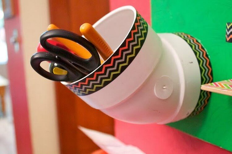 Hair dryer holder diy