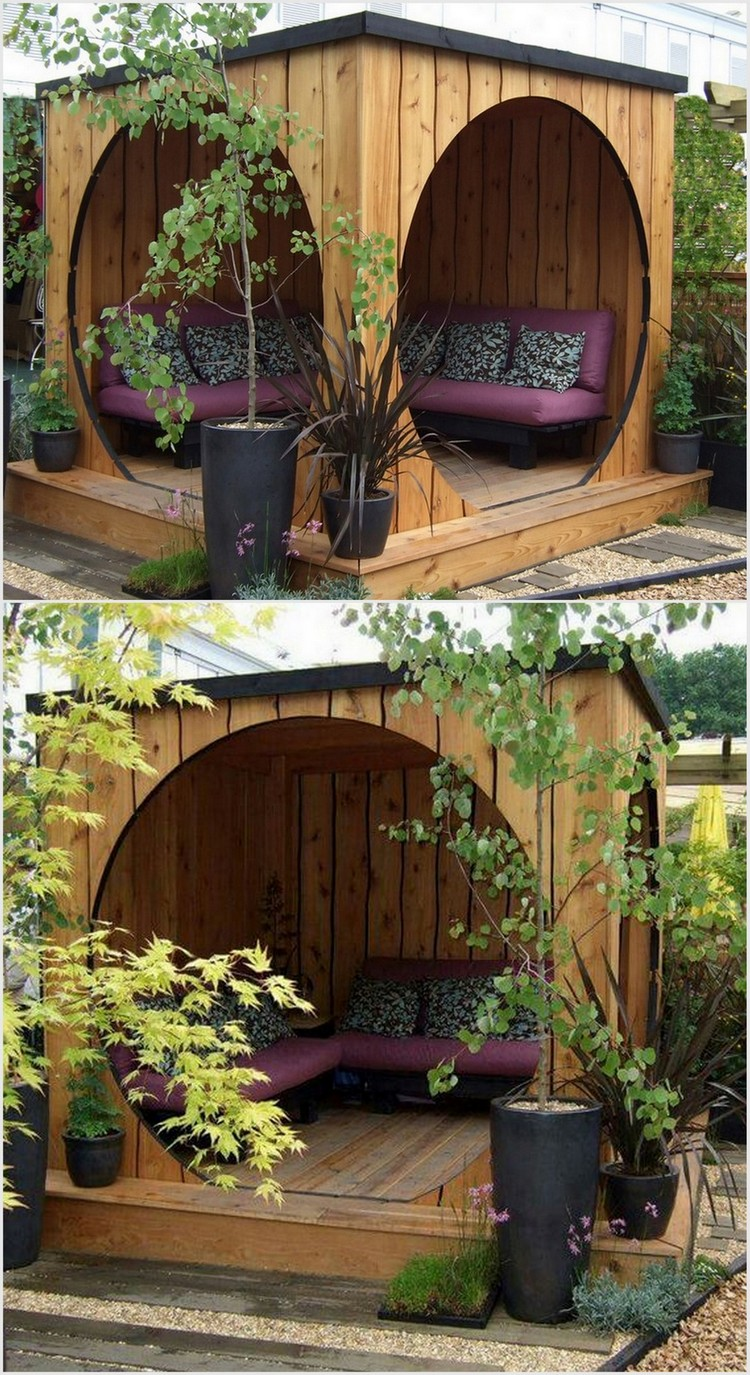 Clever ways to decor your garden for this summer with for Cabane jardin pvc