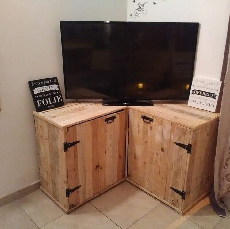Pallet TV Stand or Cabinet