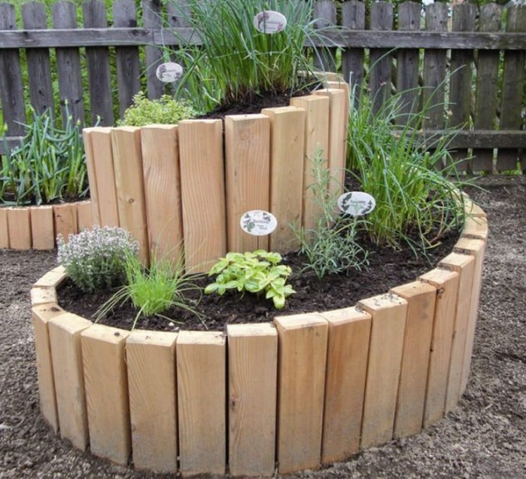 Raised Garden Bed for Outdoor Landscaping
