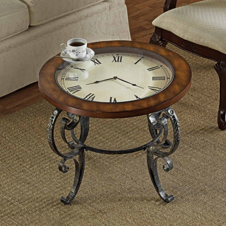 Recycled Clock Table
