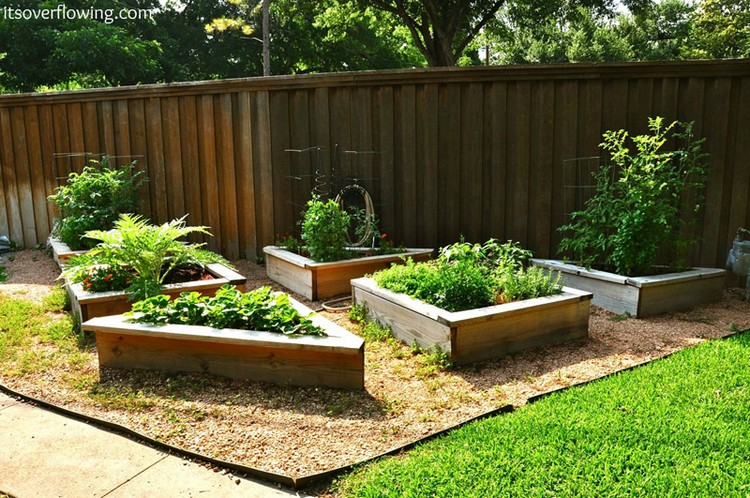 Wood Pallet Garden Raised Bed