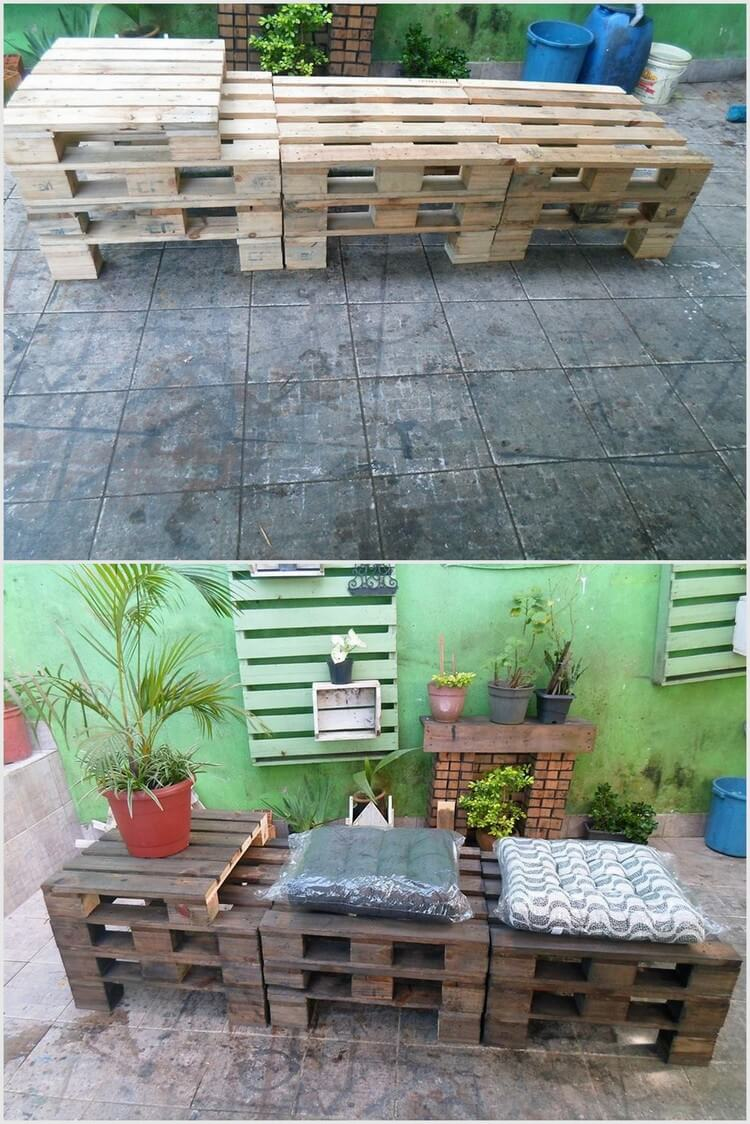 Creative ways to recycle wood pallets into useful things for Making things with wooden pallets