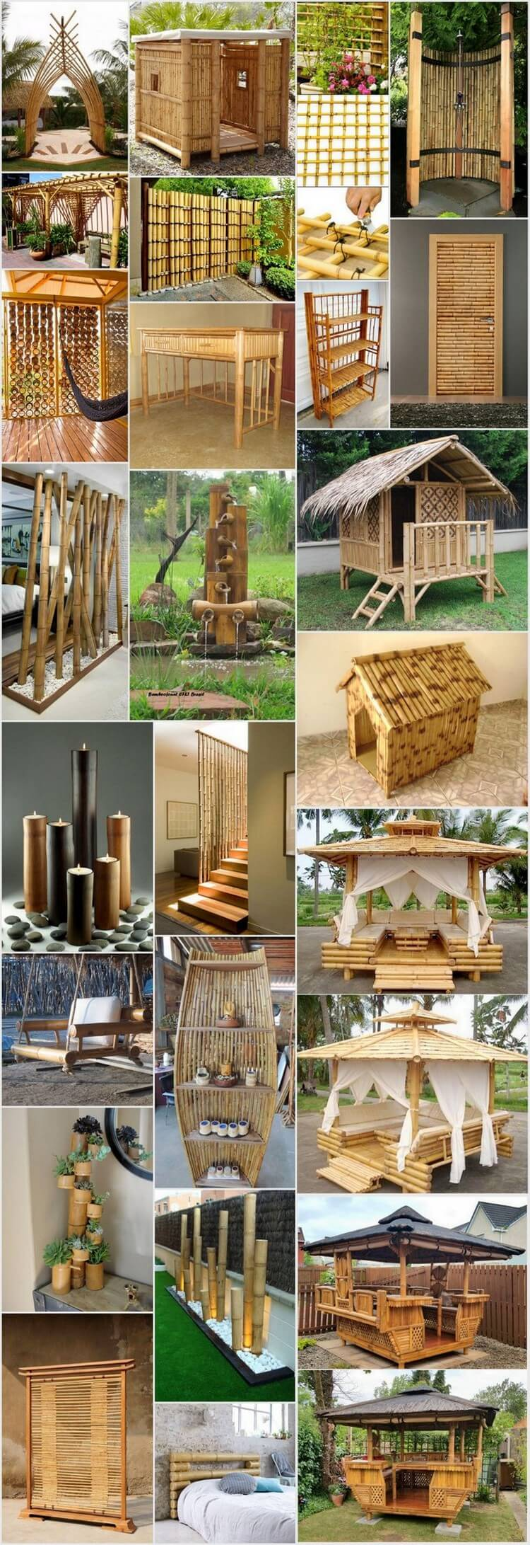 25 Amazing Ideas with Bamboo