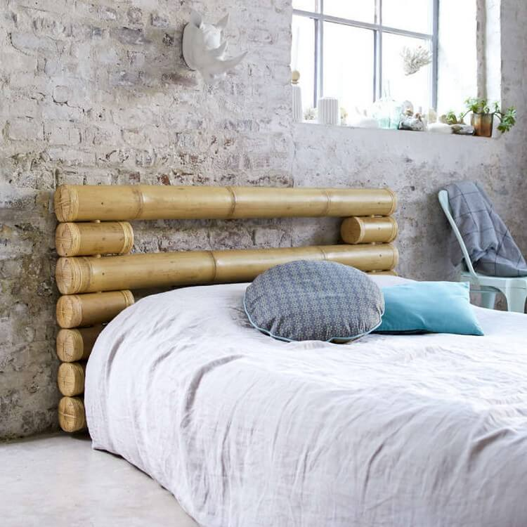 Bamboo Bed Headboard