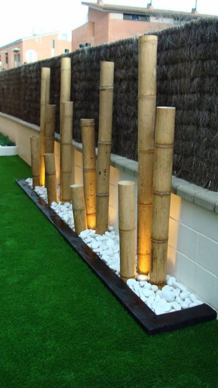 25 Amazing Ideas With Bamboo Recycled Crafts