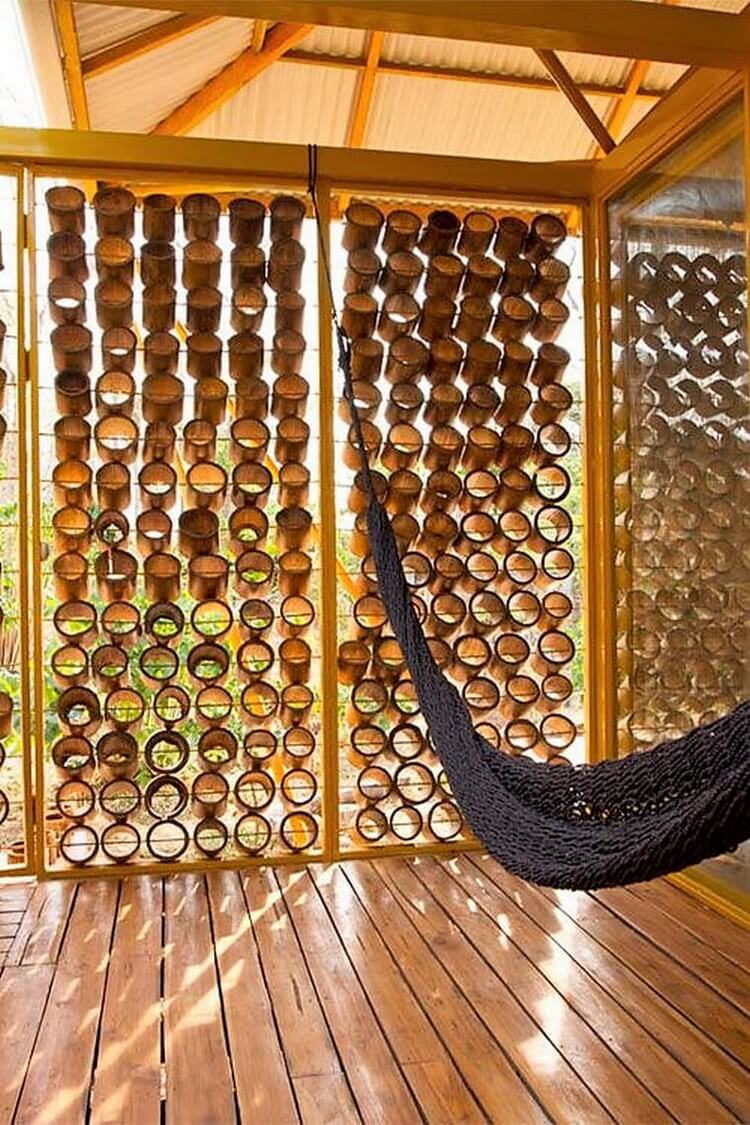 Bamboo Patio Decor