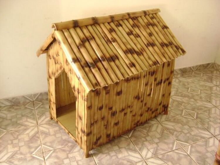 Bamboo Pet House