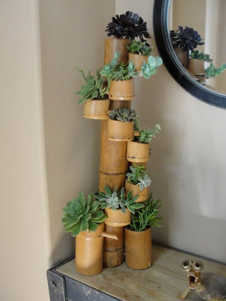 Bamboo Planter Pots