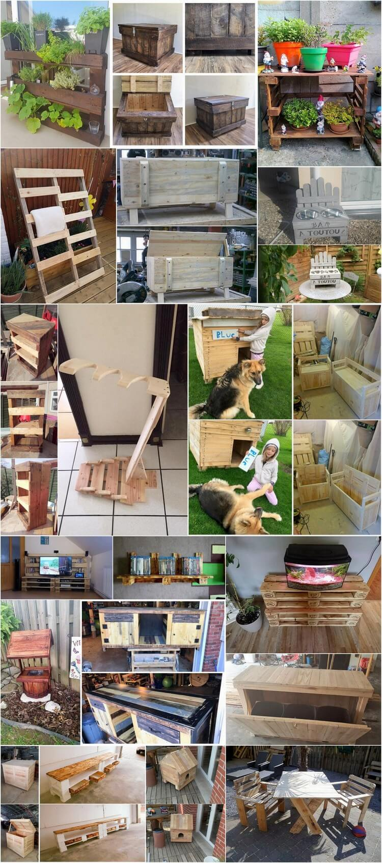 Innovative Ideas to Upcycle Old Wood Pallets