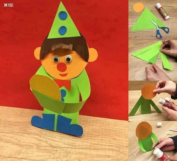 Kids Paper Craft Projects