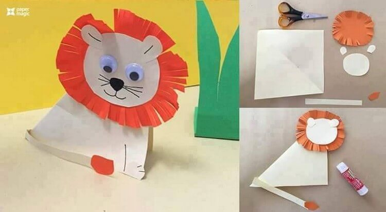 Craft Ideas With Paper For Kids Part - 20: Kids Paper Crafts Ideas