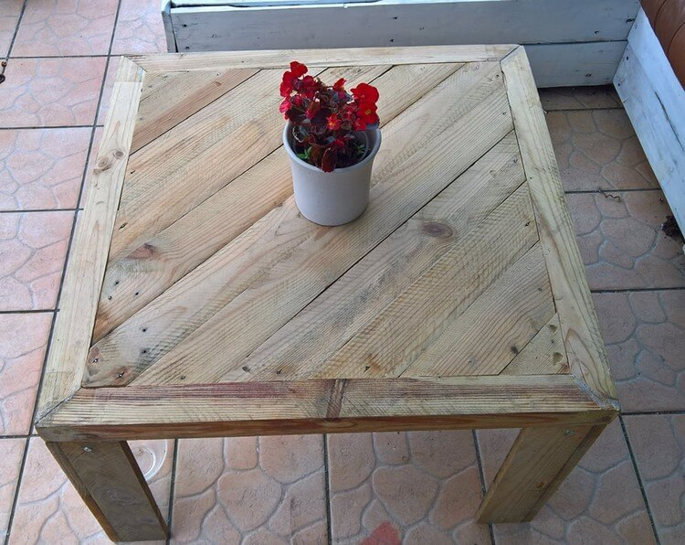 Pallet Table Idea