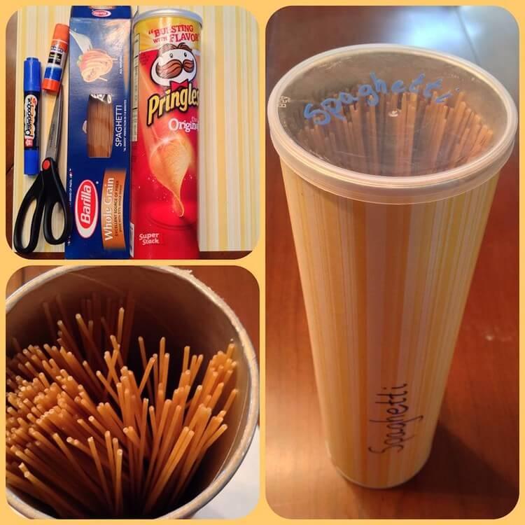 Upcycled Pringle Tube