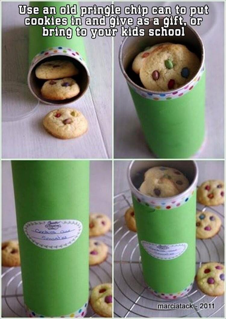 Upcycling Pringle Tubes