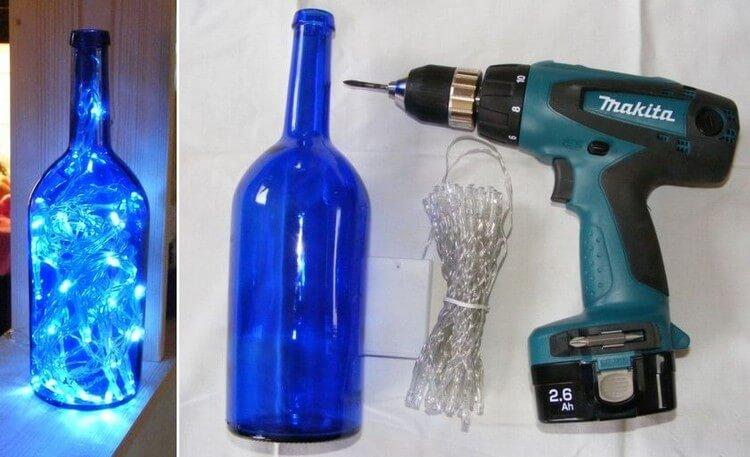 Wine Bottle LED Lamp