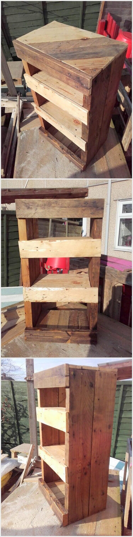 Wooden Pallet Rack