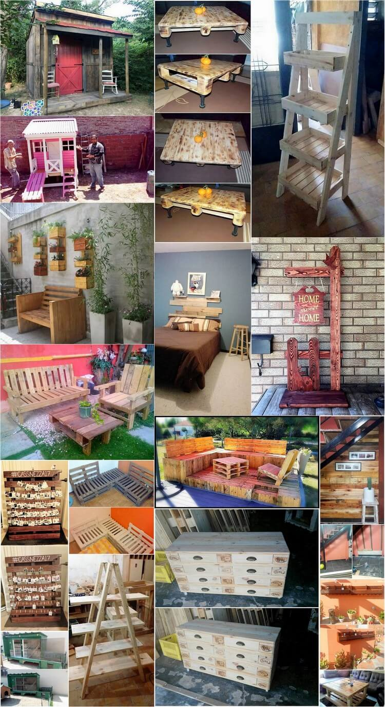 Amazing DIY Projects to Repurpose Old Shipping Pallets
