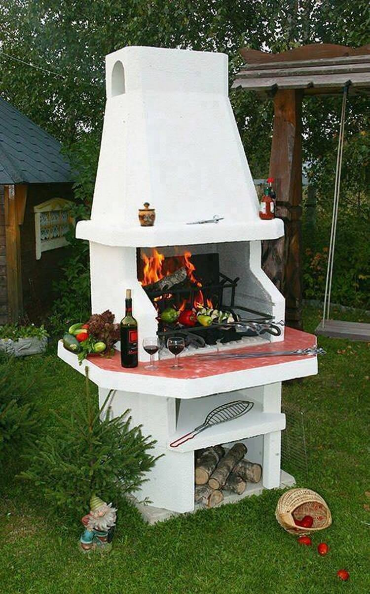 Awesome Outdoor BBQ Grill
