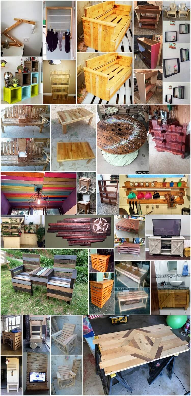 Creative and Unique Ideas to Recycling Old Wooden Pallets