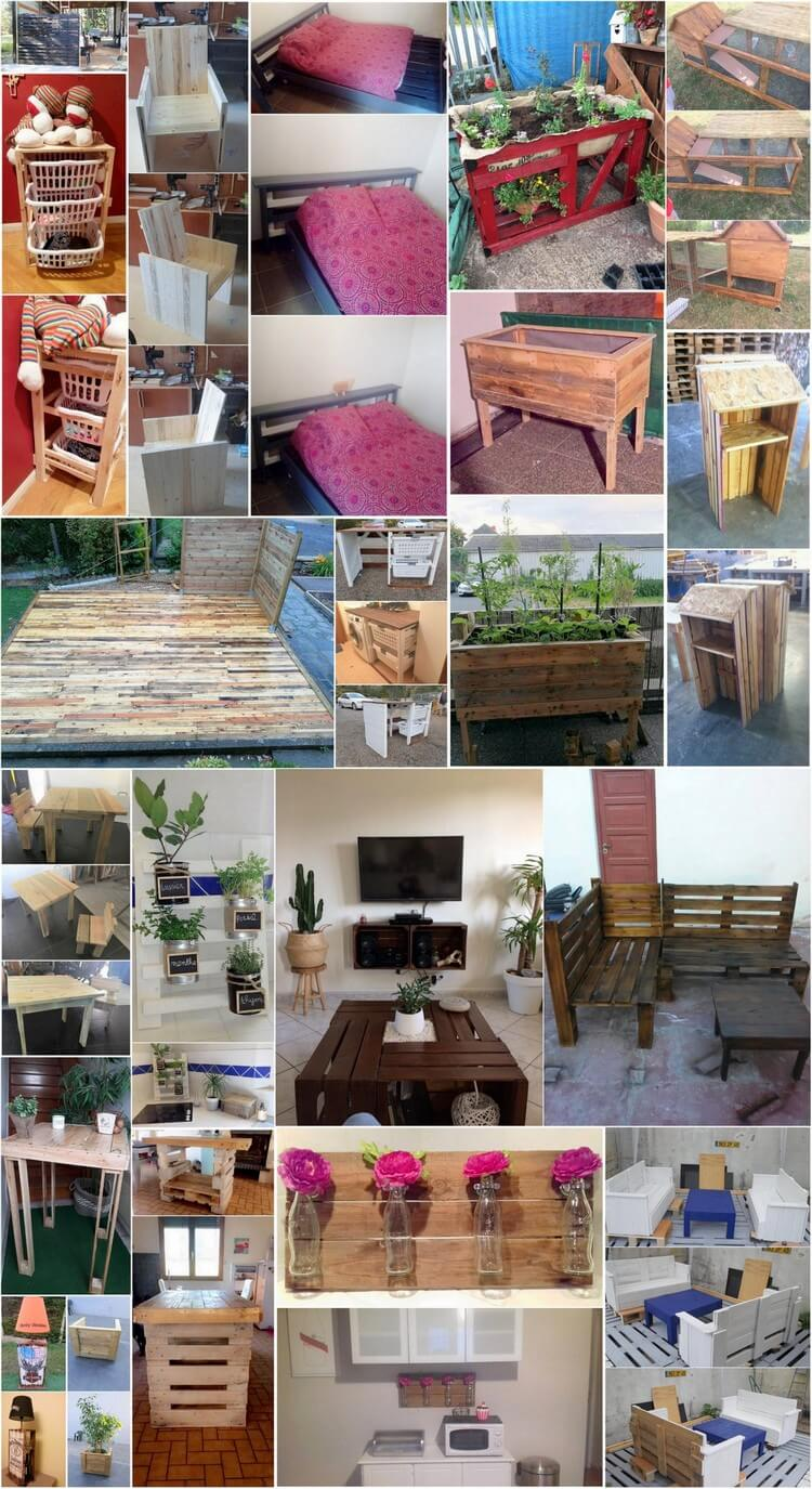 Imaginative Ideas with Old Shipping Pallets