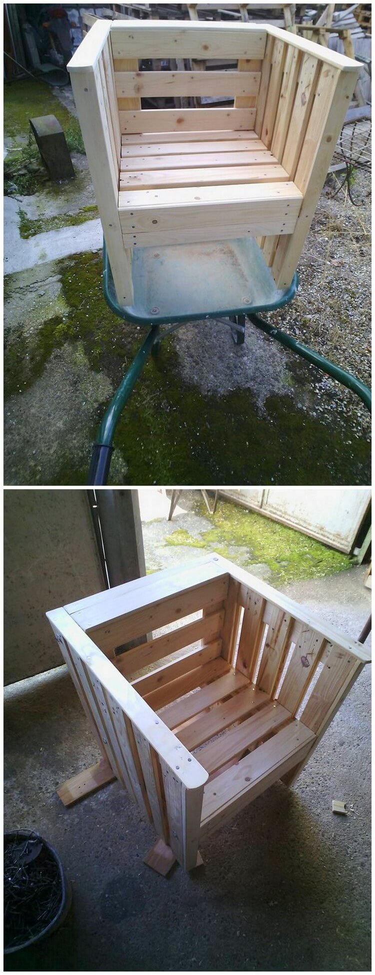 Pallet Mini Chair