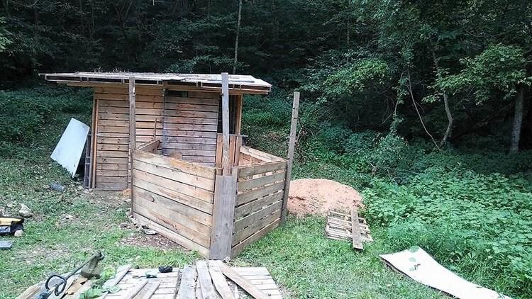 Pallet Outdoor Cabin