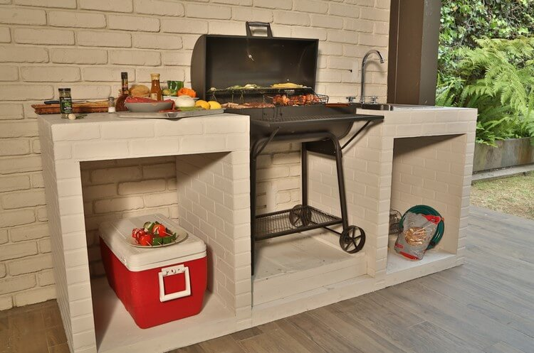 Patio BBQ Grill Designs