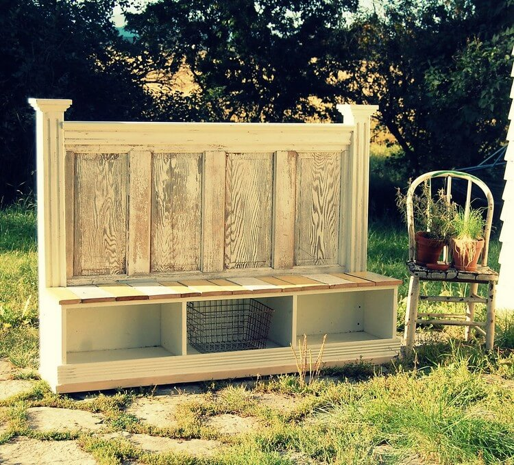 Upcycled Headboard Plans