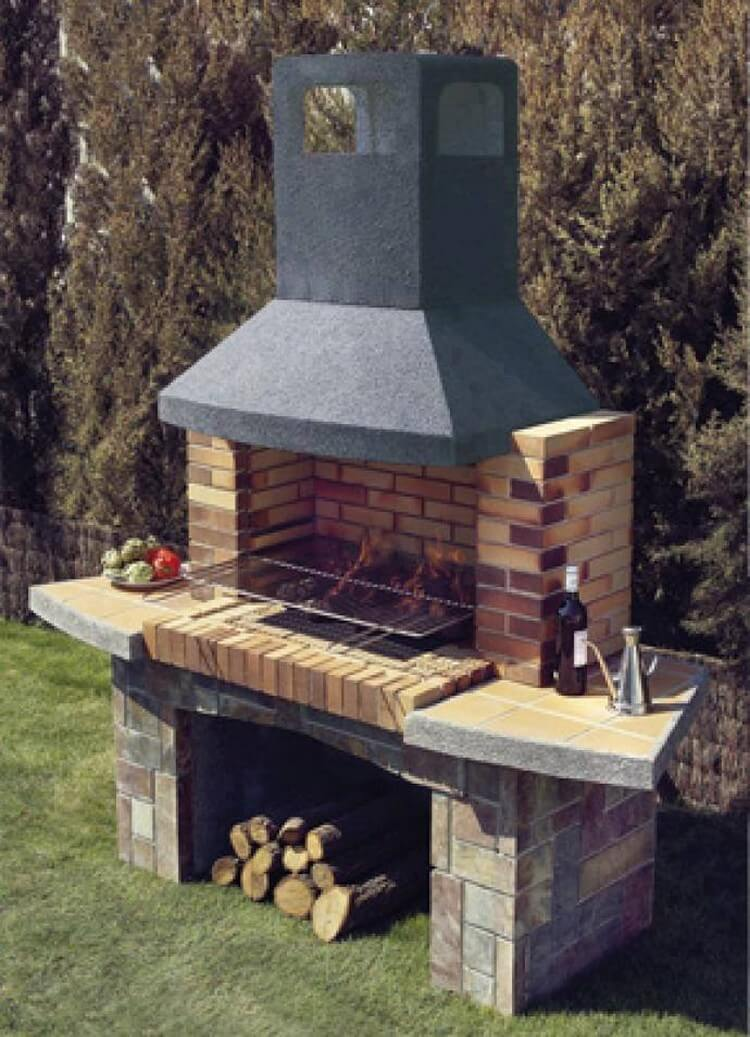 Wonderful Outdoor BBQ Grill