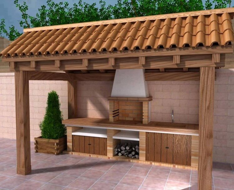 Wonderful Patio BBQ Grill