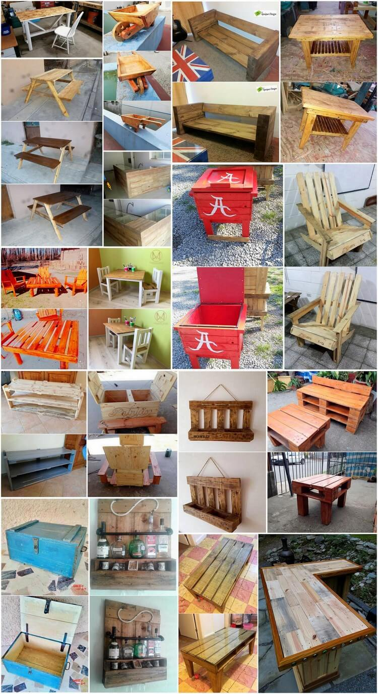 Creative Ideas to Give Old Wooden Pallets New Look