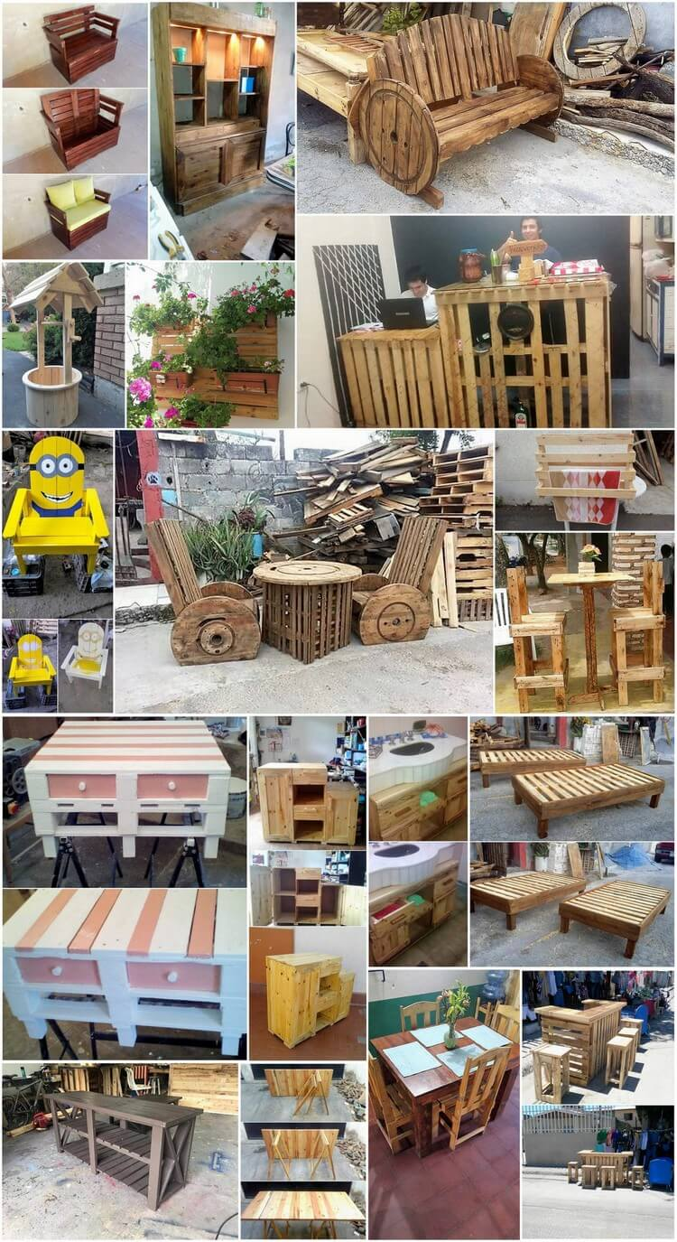Easiest and Best Ideas for Wood Pallet Recycling