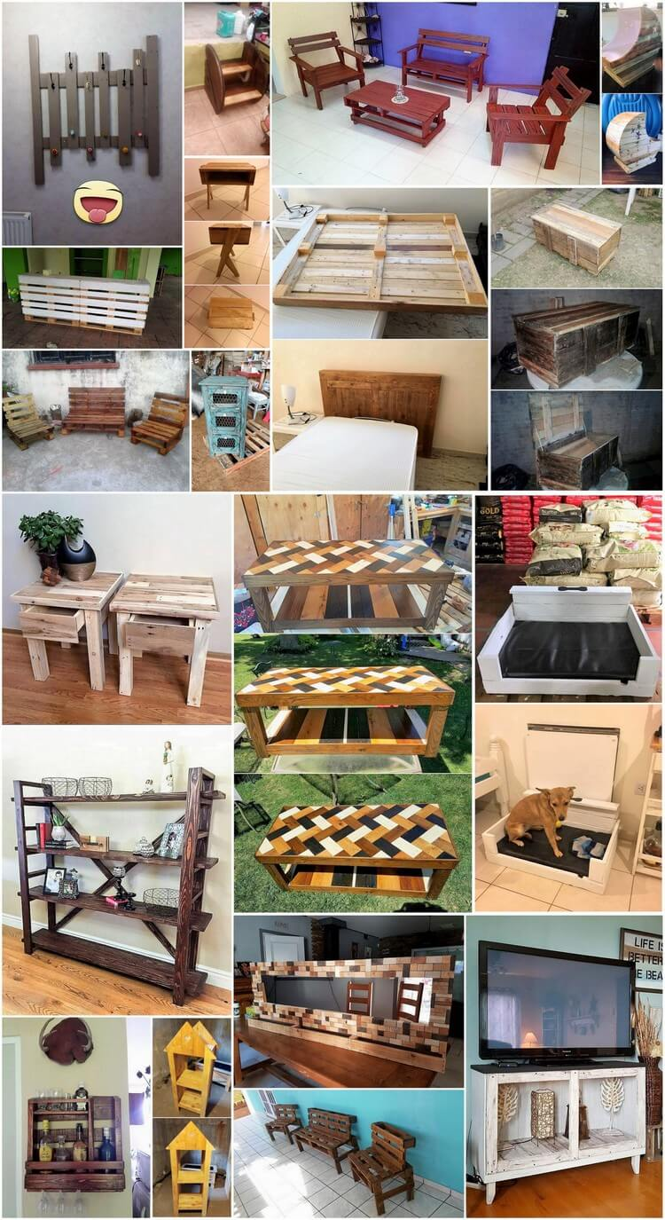 Easy to Make Awesome Wood Pallet Projects