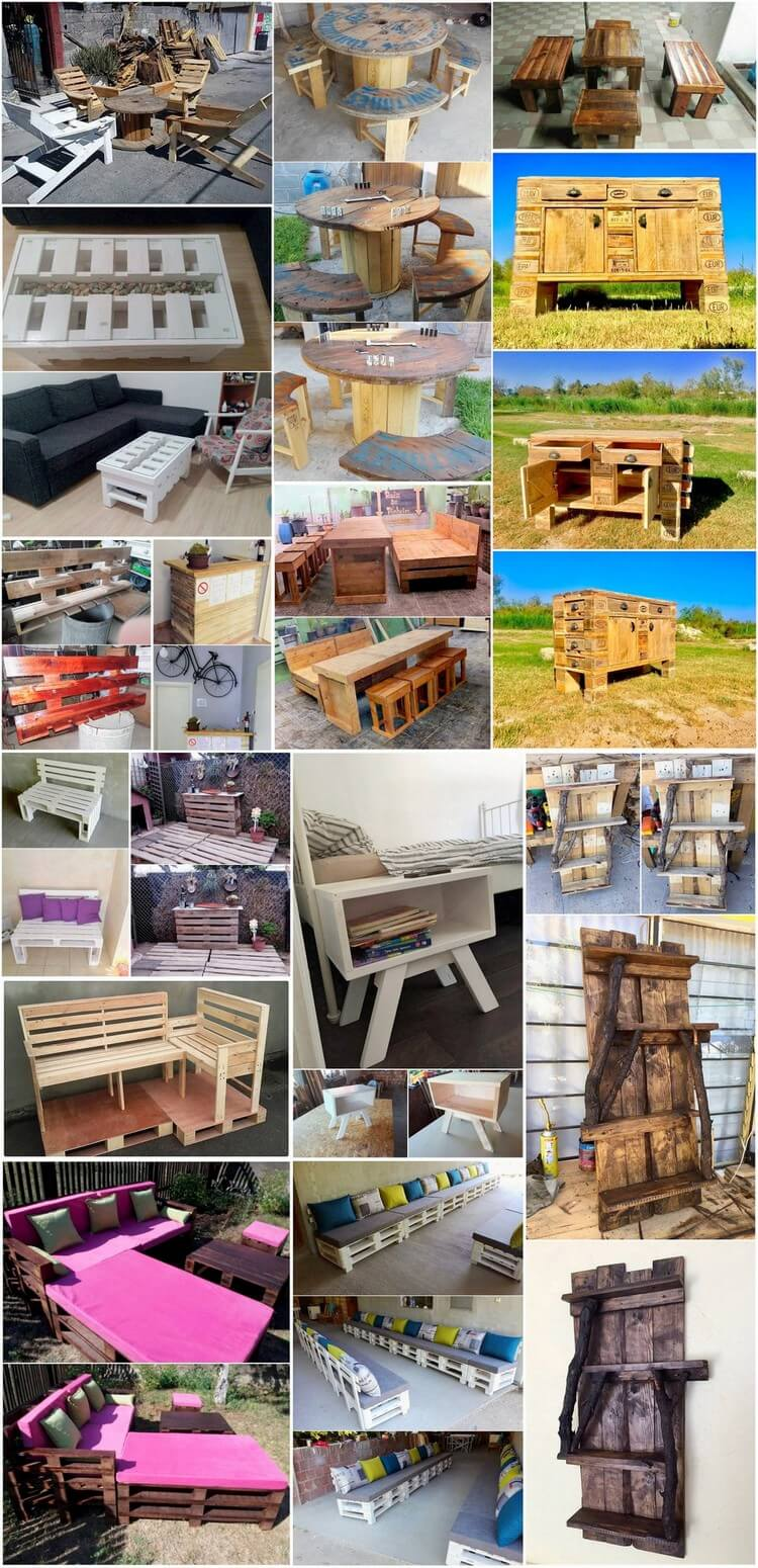 Innovative DIY Ideas for Wood Pallet Reusing