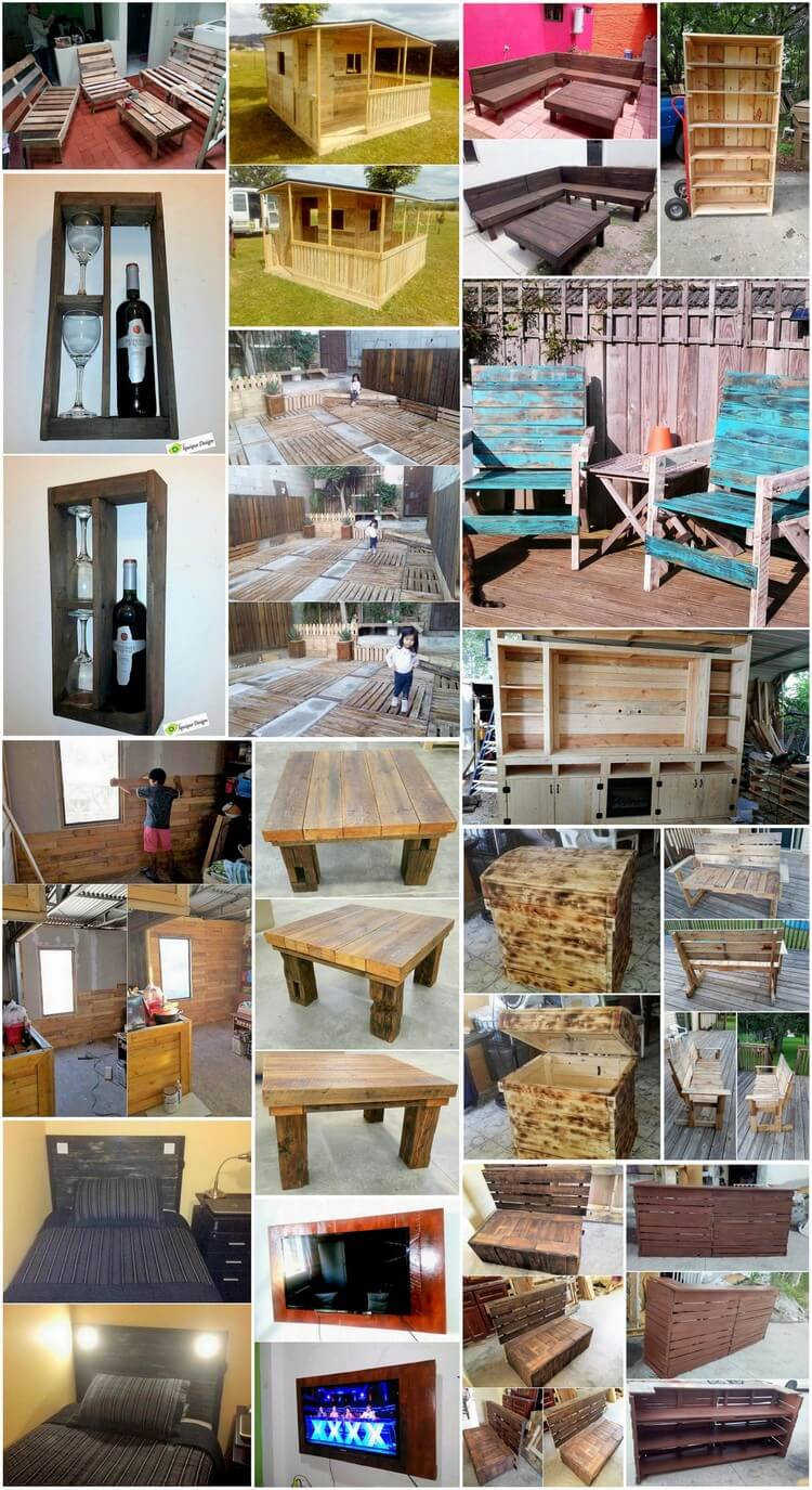 Interesting Ways to Reuse Old Wood Pallets