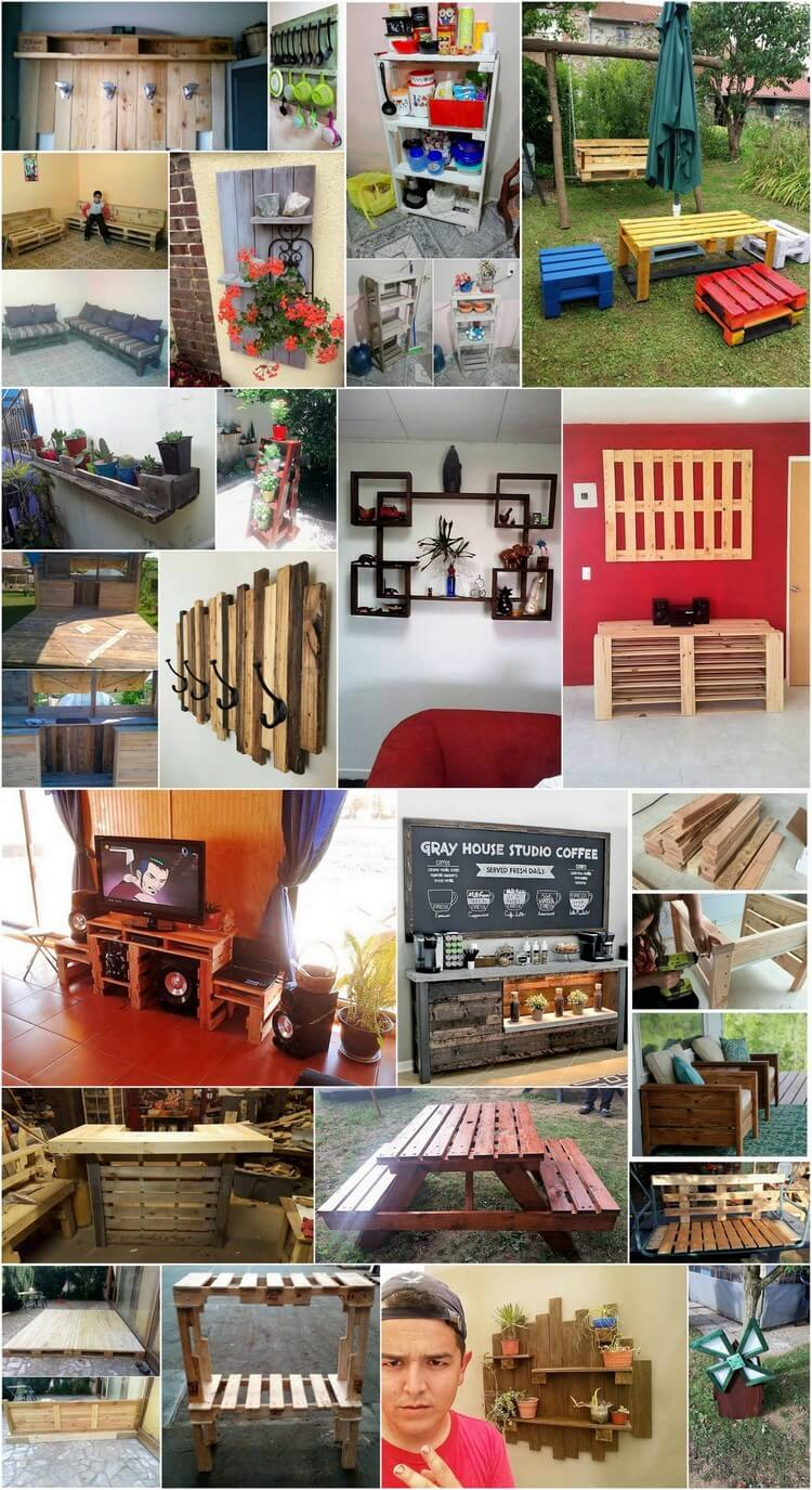Outrageously Smart Recycled Pallet Ideas That You Should Try at Home