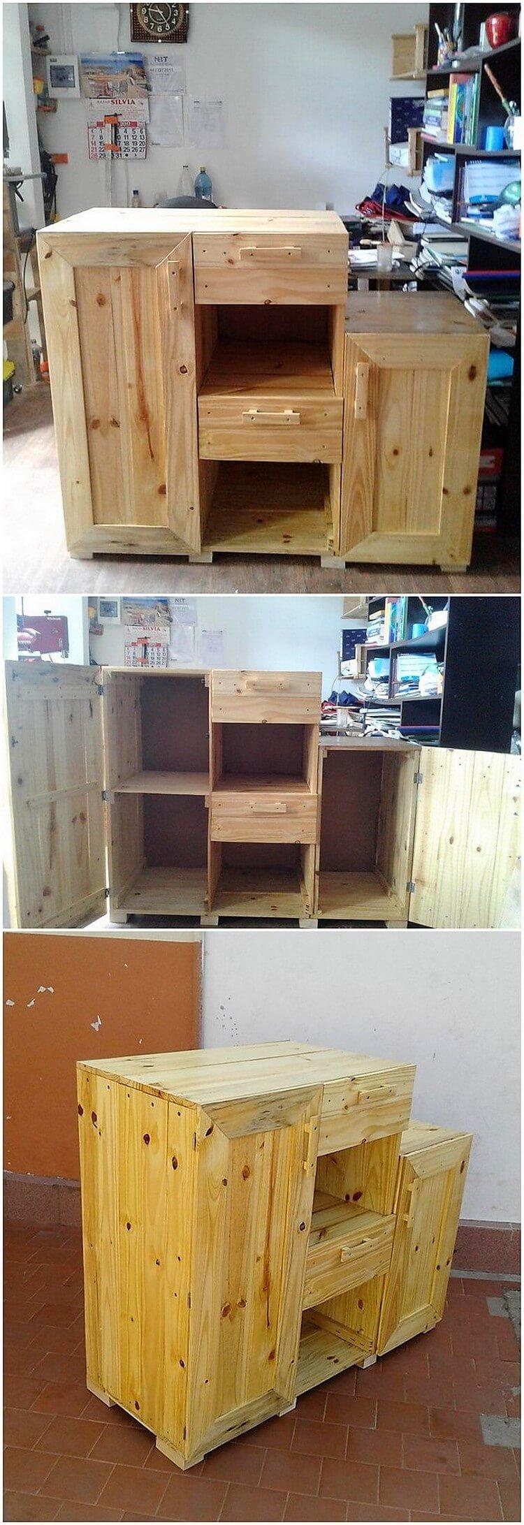Pallet Cabinet Unit