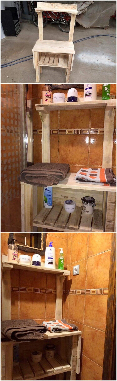 Pallet Creation for Bathroom
